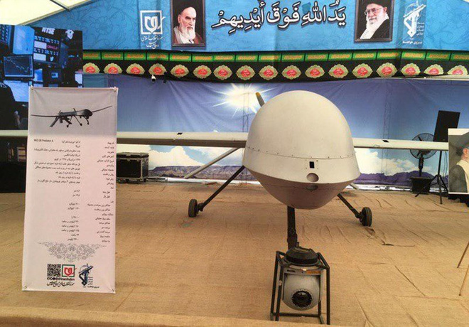 Giữa căng thẳng vụ tấn công Aramco, Iran có động thái lạ khoe chiến lợi phẩm - Ảnh 4.