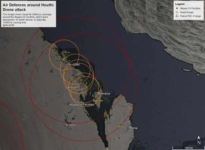 Phòng không Saudi Arabia đang trốn ở đâu khi các cơ sở dầu trọng yếu bị tấn công dữ dội? - Ảnh 3.