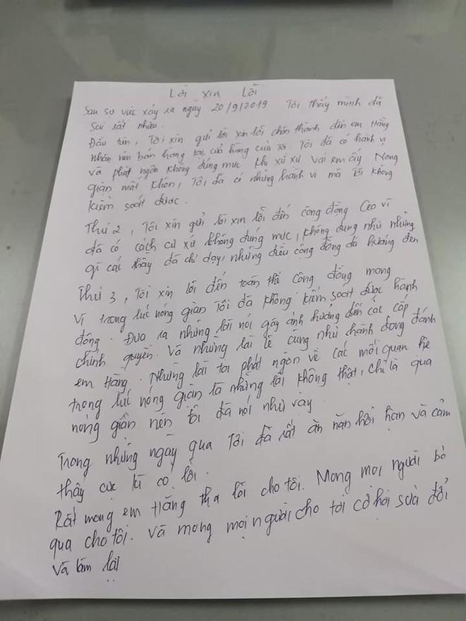 Tát nữ sinh tới đòi lương, chủ shop viết thư tay xin lỗi: Tôi thấy mình đã sai - Ảnh 2.