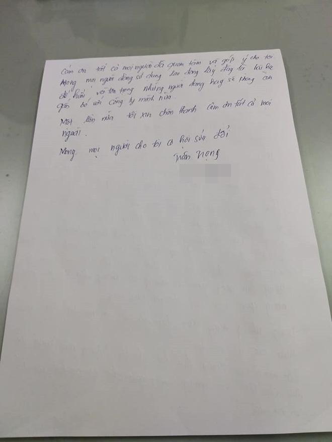 Tát nữ sinh tới đòi lương, chủ shop viết thư tay xin lỗi: Tôi thấy mình đã sai - Ảnh 3.