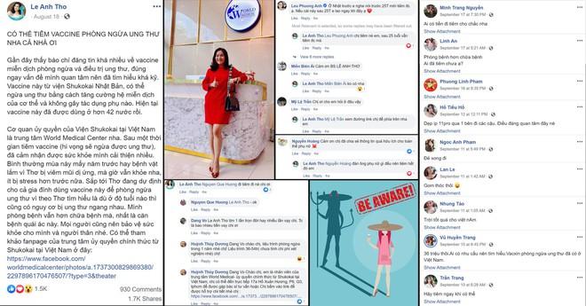 Vợ diễn viên Bình Minh bị tố tiếp tay cho lừa đảo khi quảng cáo vaccine phòng ngừa ung thư - Ảnh 1.