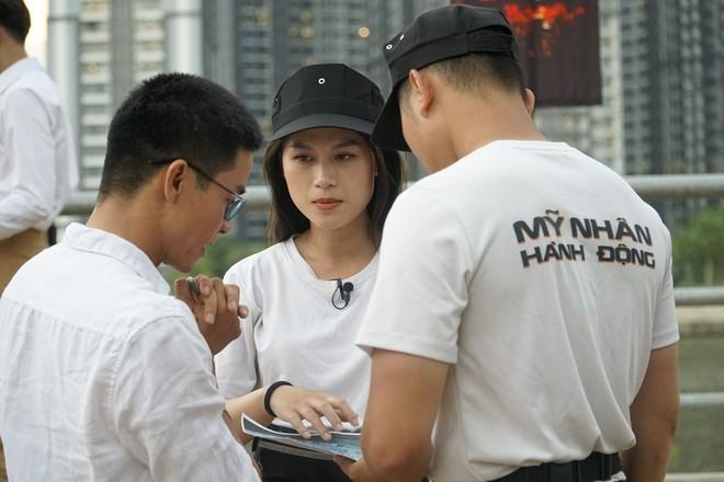 Ngọc Thanh Tâm thực hiện thử thách căng thẳng tại show thực tế - Ảnh 2.