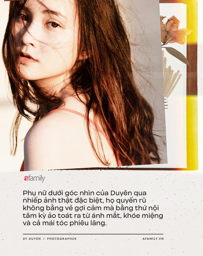 Dy Duyên - Nữ nhiếp ảnh trong mơ của nhiều nàng thơ Việt kể về cuộc tình đặc biệt, không có hội thoại trong suốt 10 năm - Ảnh 2.