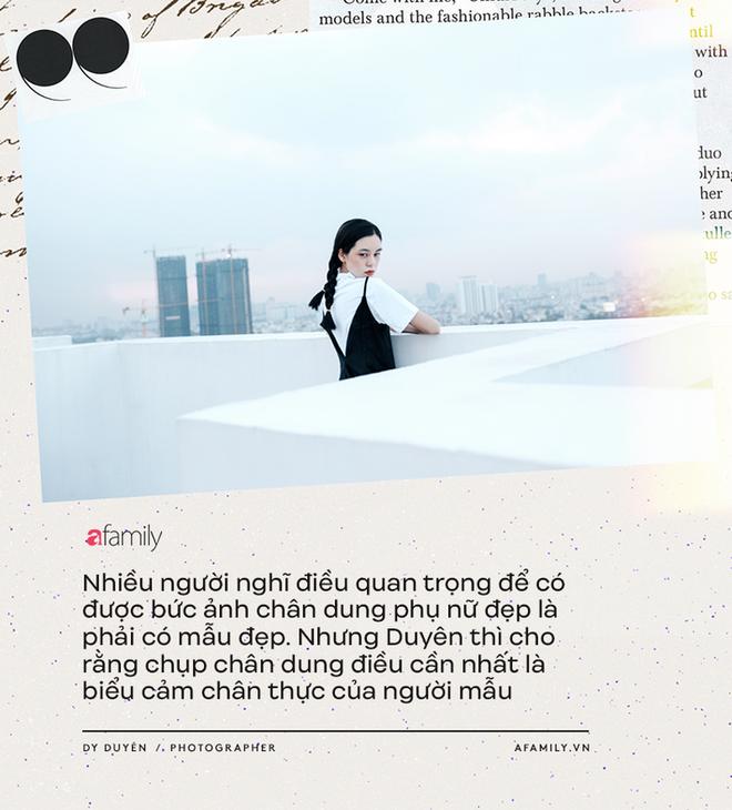 Dy Duyên - Nữ nhiếp ảnh trong mơ của nhiều nàng thơ Việt kể về cuộc tình đặc biệt, không có hội thoại trong suốt 10 năm - Ảnh 11.
