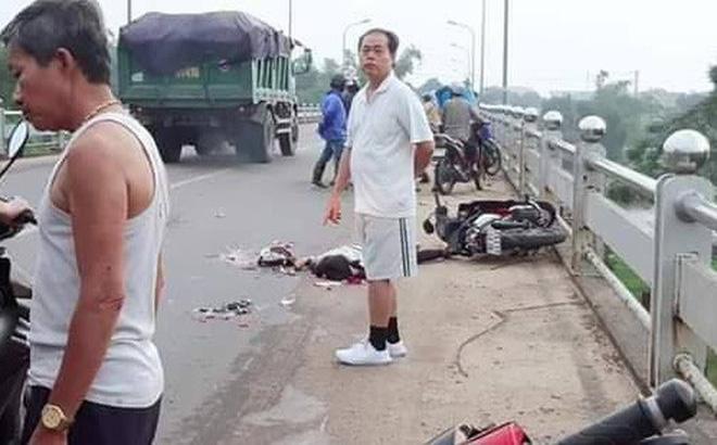Tông chết người phụ nữ đi xe máy, tài xế xe tải phóng xe bỏ trốn