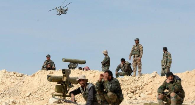 Khủng bố IS phục kích khiến hàng chục lính Nga và Syria thương vong - Đại sứ quán Mỹ tại Baghdad bị tấn công - Ảnh 17.