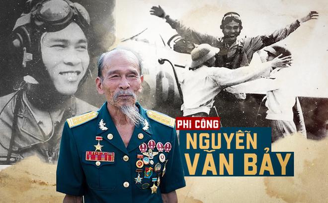 Vì sao mỗi lần tới Việt Nam các phi công Mỹ xin gặp bằng được phi công Nguyễn Văn Bảy?