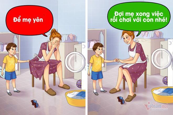 9 câu nói nhẹ nhàng của cha mẹ khiến trẻ nghe lời răm rắp - Ảnh 4.