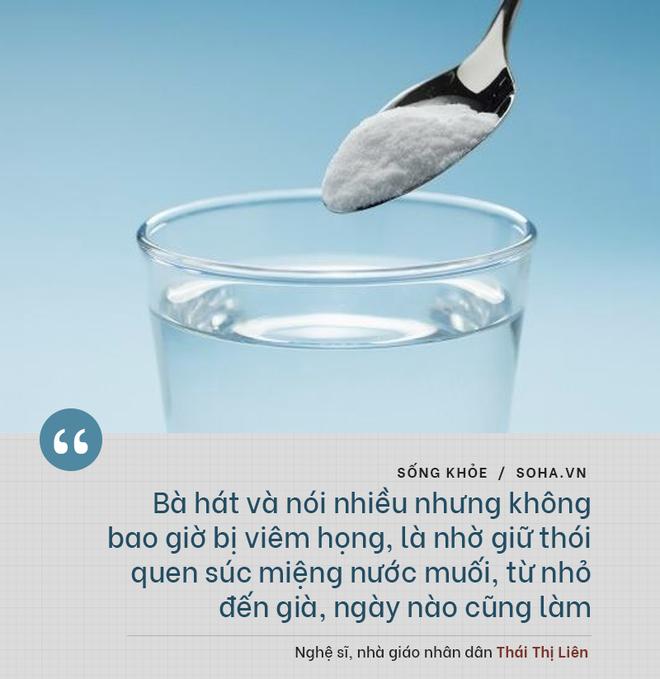 Bí quyết từ 'người mẹ vĩ đại' 102 tuổi của NSND Đặng Thái Sơn: Thể dục, thiên nhiên, nước muối... và mỹ phẩm - ảnh 5