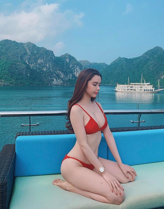 Cận cảnh thân hình bốc lửa của Hoa hậu Du lịch Thế giới Huỳnh Vy - Ảnh 6.