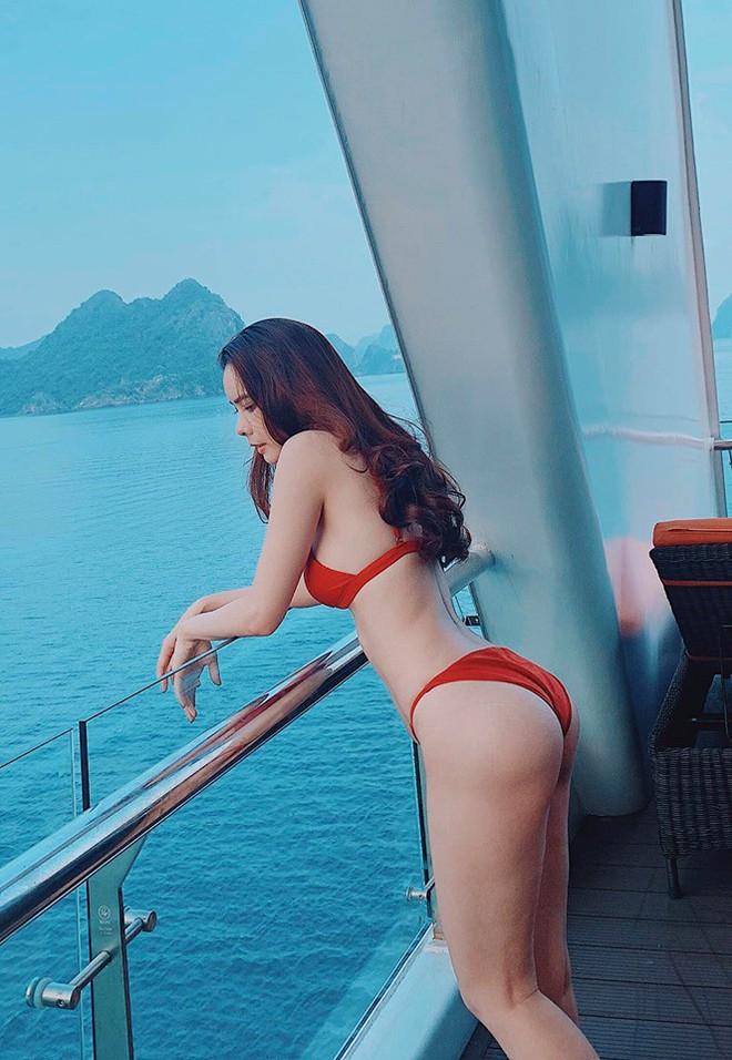 Cận cảnh thân hình bốc lửa của Hoa hậu Du lịch Thế giới Huỳnh Vy - Ảnh 8.