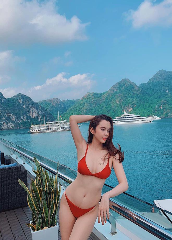 Cận cảnh thân hình bốc lửa của Hoa hậu Du lịch Thế giới Huỳnh Vy - Ảnh 9.