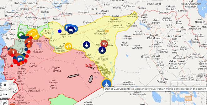 CẬP NHẬT: Su-35 và S-400 Nga sẽ thẳng tay tiêu diệt chiến đấu cơ Israel ở Syria - Máy bay quân sự Mỹ bay rất thấp sát Syria - Ảnh 22.