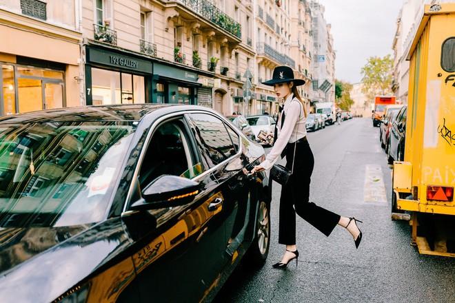 Hoa hậu Kỳ Duyên cực gợi cảm khi xuất hiện tại Pháp - Ảnh 11.