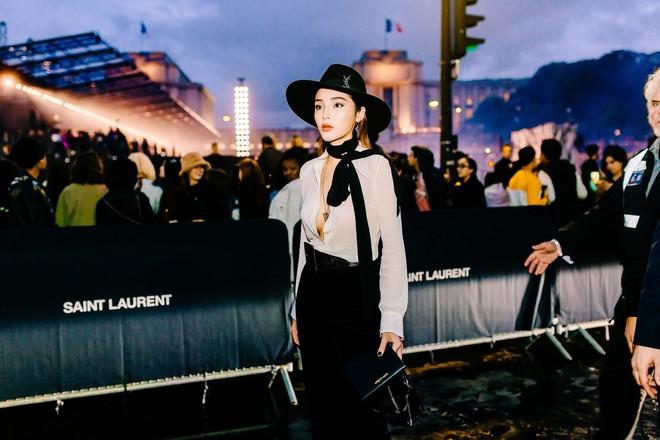 Hoa hậu Kỳ Duyên cực gợi cảm khi xuất hiện tại Pháp - Ảnh 9.