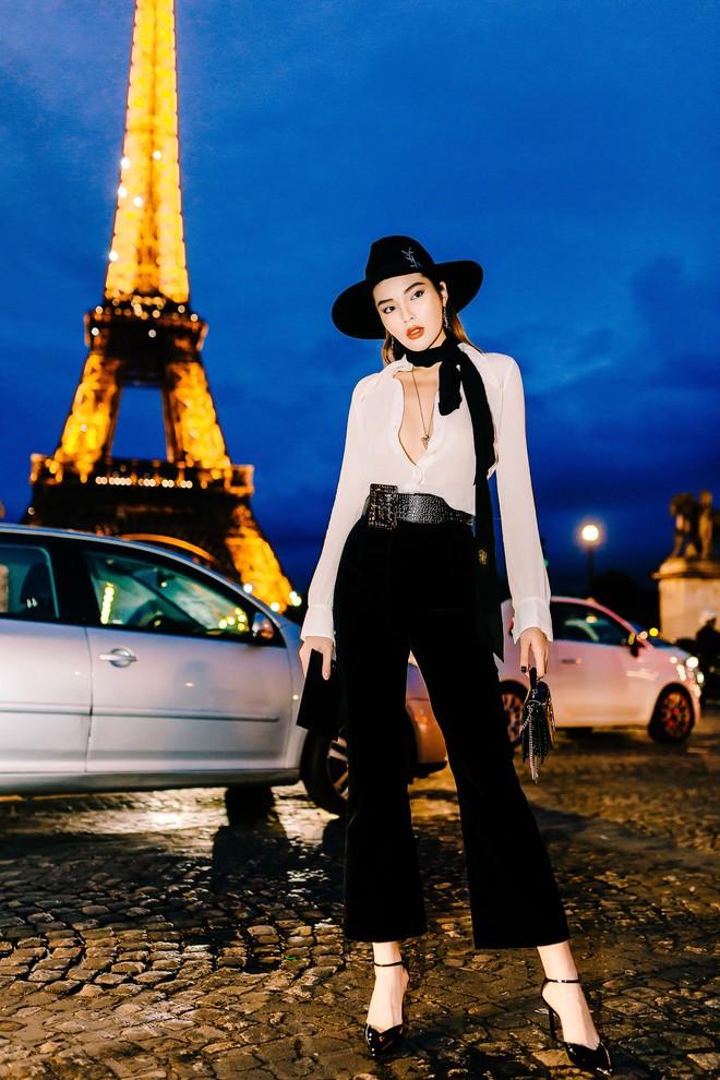 Hoa hậu Kỳ Duyên cực gợi cảm khi xuất hiện tại Pháp - Ảnh 1.