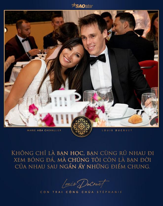 Mối tình gần một thập kỷ và lễ cưới trong mơ của cô gái Việt làm dâu Hoàng gia Monaco - Ảnh 14.