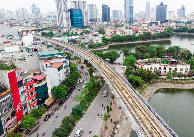 Cận cảnh đường sắt Cát Linh-Hà Đông tiến độ kiểu rùa bò hơn thập kỷ - Ảnh 5.