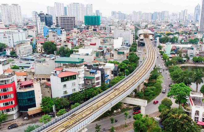 Cận cảnh đường sắt Cát Linh-Hà Đông tiến độ kiểu rùa bò hơn thập kỷ - Ảnh 6.