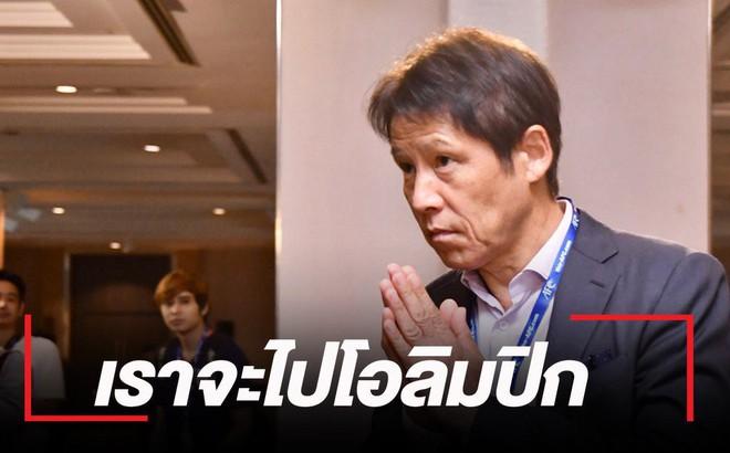Rơi vào bảng khó ở VCK U23 châu Á, HLV Nishino vẫn quyết đưa Thái Lan giành vé dự Olympic