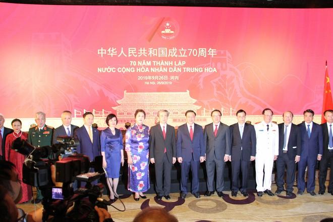 Phó Thủ tướng Vương Đình Huệ dự kỷ niệm 70 năm Quốc khánh Trung Quốc - Ảnh 3.