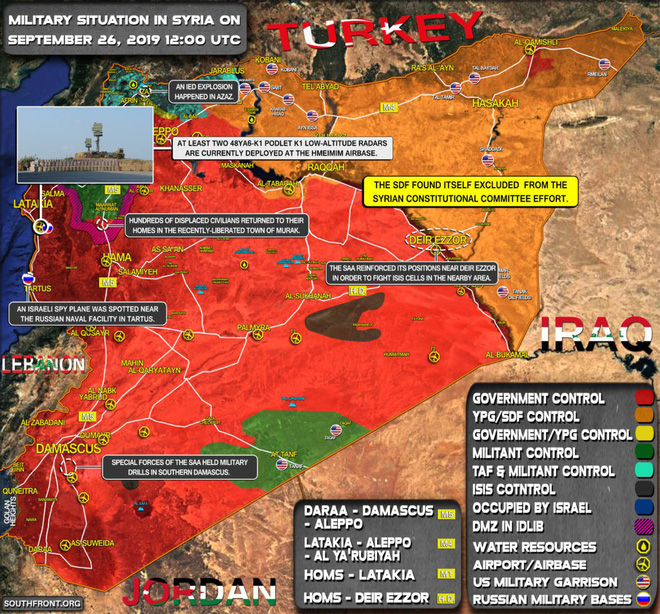 Giữa LHQ, Tổng thống Iran tuyên bố nóng - Hiệu quả chiến đấu của PK Nga ở Syria tăng đột biến - Ảnh 2.