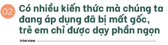 """TS Từ Ngữ: Bí quyết sống khỏe là một """"vòng tròn khép kín; con em chúng ta đang mất gốc! - Ảnh 3."""