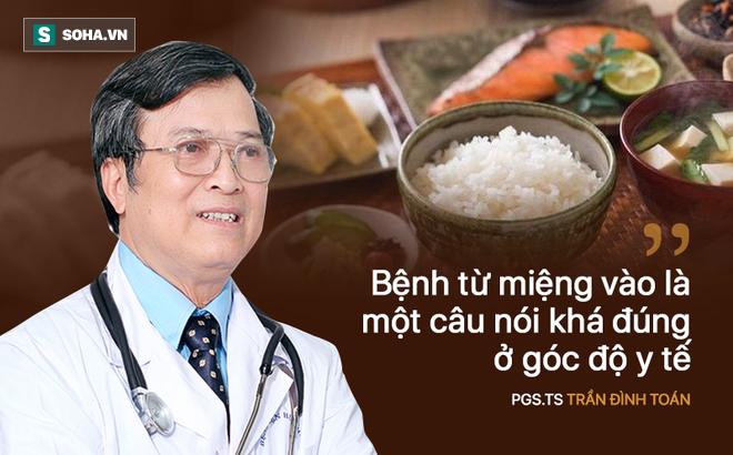 PGS Trần Đình Toán: Người Việt chi cả tỉ đồng chữa bệnh do mắc nhiều lỗi sai trong ăn uống