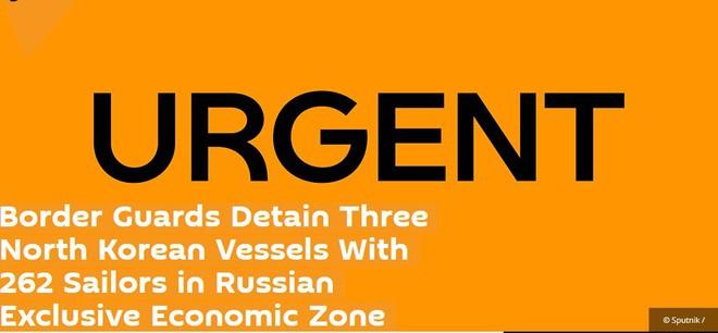 Sau vụ đung độ nghiêm trọng khiến 3 linh Nga bị thương, CSB Nga vừa thêm bắt nhiều tàu Triều Tiên - Ảnh 2.