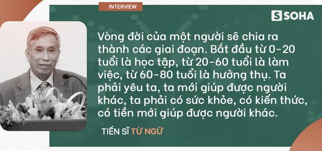 """TS Từ Ngữ: Bí quyết sống khỏe là một """"vòng tròn khép kín; con em chúng ta đang mất gốc! - Ảnh 10."""