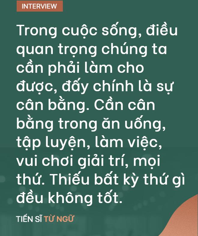 """TS Từ Ngữ: Bí quyết sống khỏe là một """"vòng tròn khép kín; con em chúng ta đang mất gốc! - Ảnh 12."""