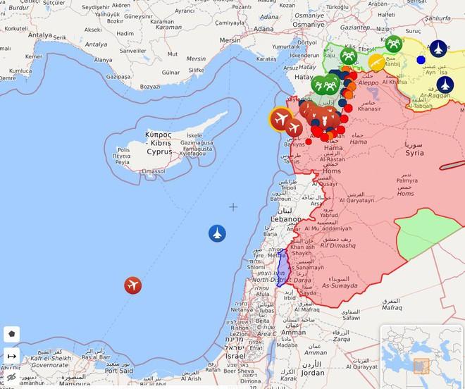CẬP NHẬT: Báo Nga cảnh báo lạnh người, Mỹ và Israel sẽ tấn công Syria trong vài ngày tới - 8 tàu Nga nghênh chiến? - Ảnh 2.