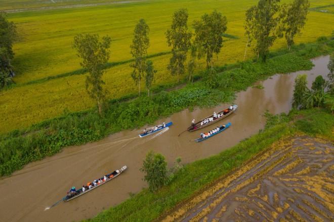 Hành trình trao sách quý nơi kênh rạch chằng chịt Đồng bằng Sông Cửu Long - Ảnh 4.