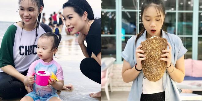Nhan sắc khả ái của con gái Á hậu Trịnh Kim Chi: Lột xác từ cô bé mũm mĩm da ngăm thành thiếu nữ 17 tuổi cao 1m72 - Ảnh 11.