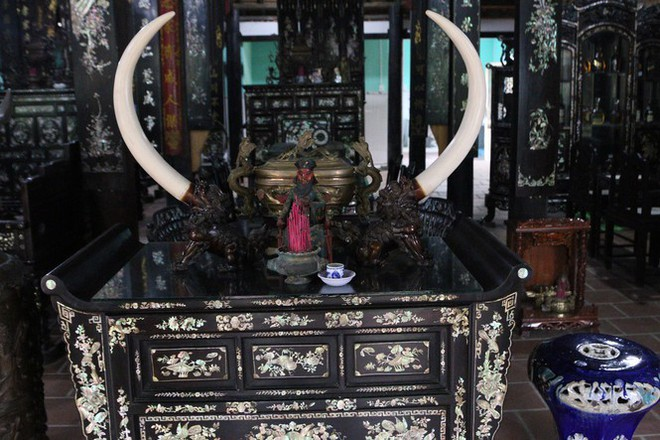 Độc đáo chiếc giường cổ có giá bạc tỷ ở Đồng Tháp - Ảnh 17.