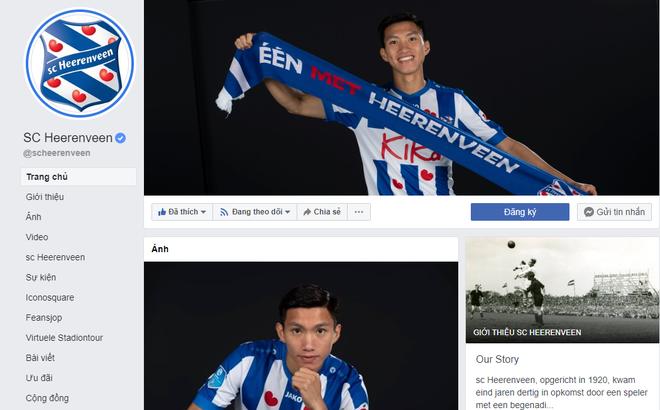 Sau màn ra mắt, Heerenveen dành vinh dự lớn cho Đoàn Văn Hậu