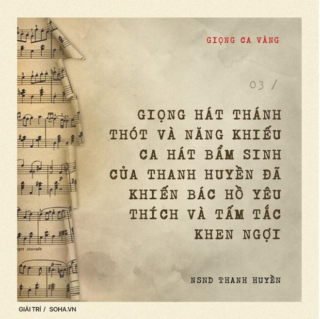 NSND Thanh Huyền: Đẳng cấp của nữ NSND đầu tiên được hát trước Bác Hồ và bước ra quốc tế - Ảnh 6.