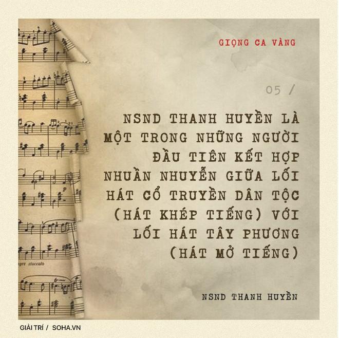 NSND Thanh Huyền: Đẳng cấp của nữ NSND đầu tiên được hát trước Bác Hồ và bước ra quốc tế - Ảnh 10.