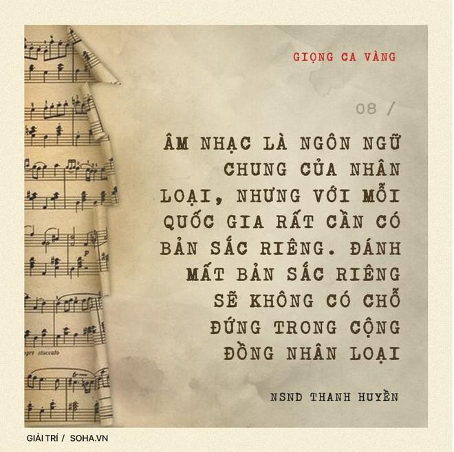 NSND Thanh Huyền: Đẳng cấp của nữ NSND đầu tiên được hát trước Bác Hồ và bước ra quốc tế - Ảnh 16.