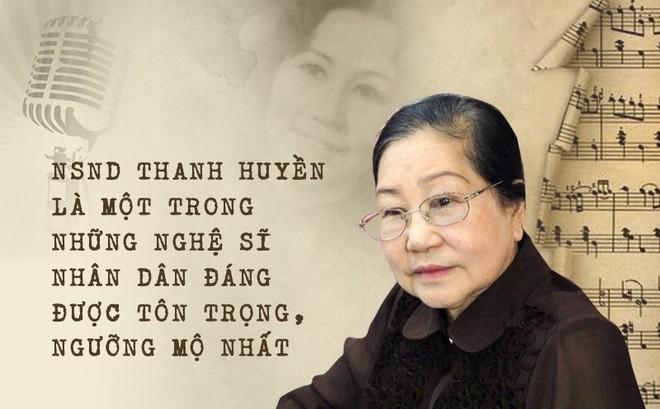 NSND Thanh Huyền: Đẳng cấp của nữ NSND đầu tiên được hát trước Bác Hồ và bước ra quốc tế