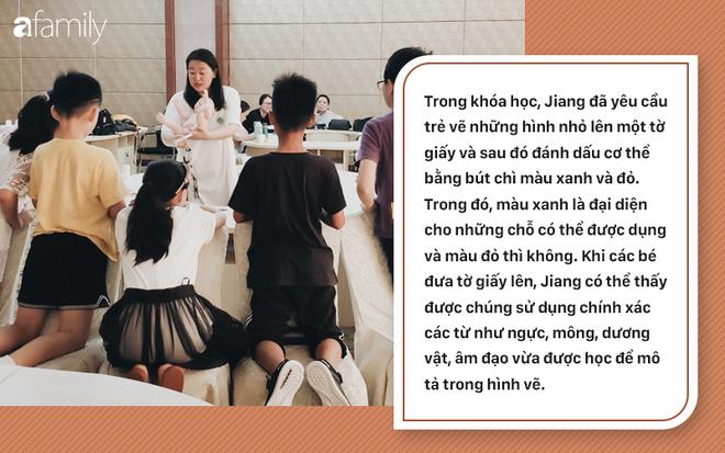 Lớp giáo dục giới tính cho trẻ tiểu học ở Trung Quốc: Trẻ được dạy sinh động về bộ phận sinh dục, quan hệ tình dục và cách ngăn chặn ấu dâm - Ảnh 4.
