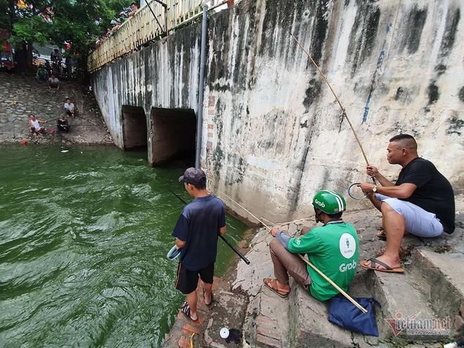 Cần thủ vây kín khu làm sạch của chuyên gia Nhật trên sông Tô Lịch - Ảnh 5.