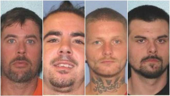4 tù nhân Mỹ cực kỳ nguy hiểm vượt ngục bằng vũ khí tự chế - Ảnh 1.
