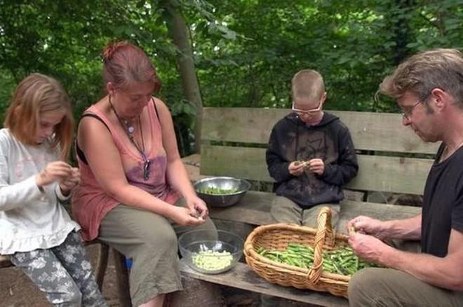 Chán cảnh làm việc quần quật kiếm tiền, cả gia đình bỏ phố lên rừng sinh sống - Ảnh 1.