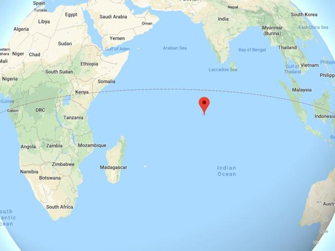 Khám phá căn cứ hải quân bí mật của Mỹ giữa Ấn Độ Dương - Ảnh 1.