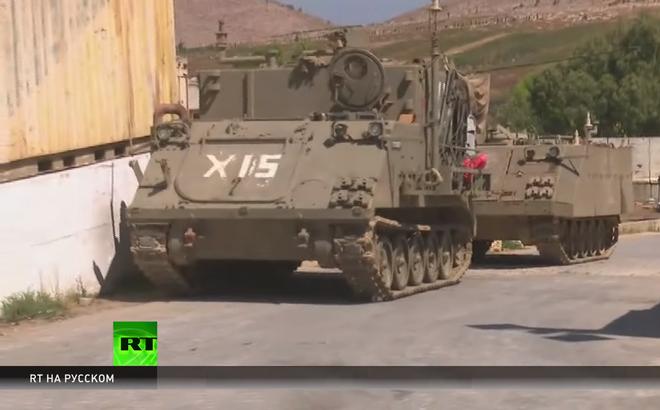 Sợ tên lửa Hezbollah, lính Israel vứt cả xe bọc thép tháo chạy khỏi biên giới Lebanon