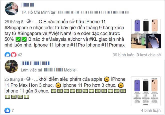 Chưa ra mắt, iPhone 11 đã được dân buôn Việt nhận đặt cọc với giá dự kiến 2.000 USD - Ảnh 2.