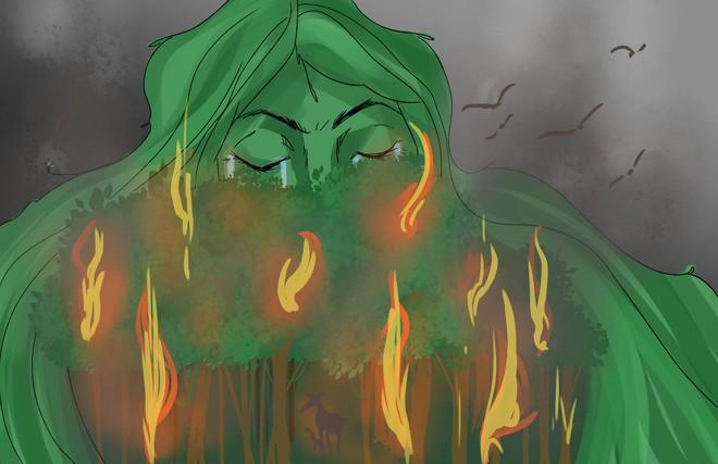 Rừng Amazon cháy thảm khốc, oxy của Trái Đất đang cạn kiệt: Quan niệm này hoàn toàn sai lầm - Vì sao? - Ảnh 1.