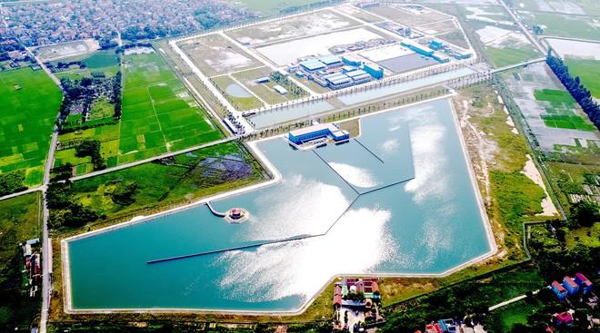 Khánh thành giai đoạn 1 nhà máy nước sạch quy mô lớn nhất miền Bắc - Ảnh 1.