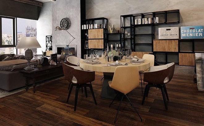 Tham khảo cách thiết kế phòng ăn đơn giản, mộc mạc và tinh tế